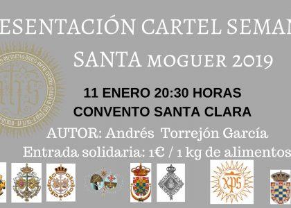CARTEL ACTO PRESENTACIÓN CARTEL SEMANA SANTA 2019