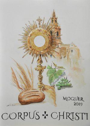 CARTEL CORPUS CHRISTI MOGUER 2019