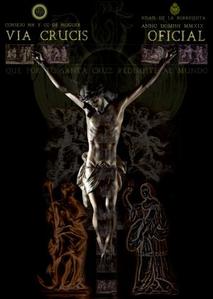 foto cartel via crucis 2019